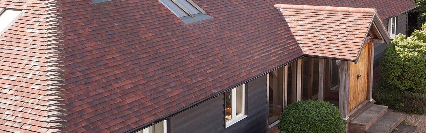Concrete Double Roman Roof Tiles