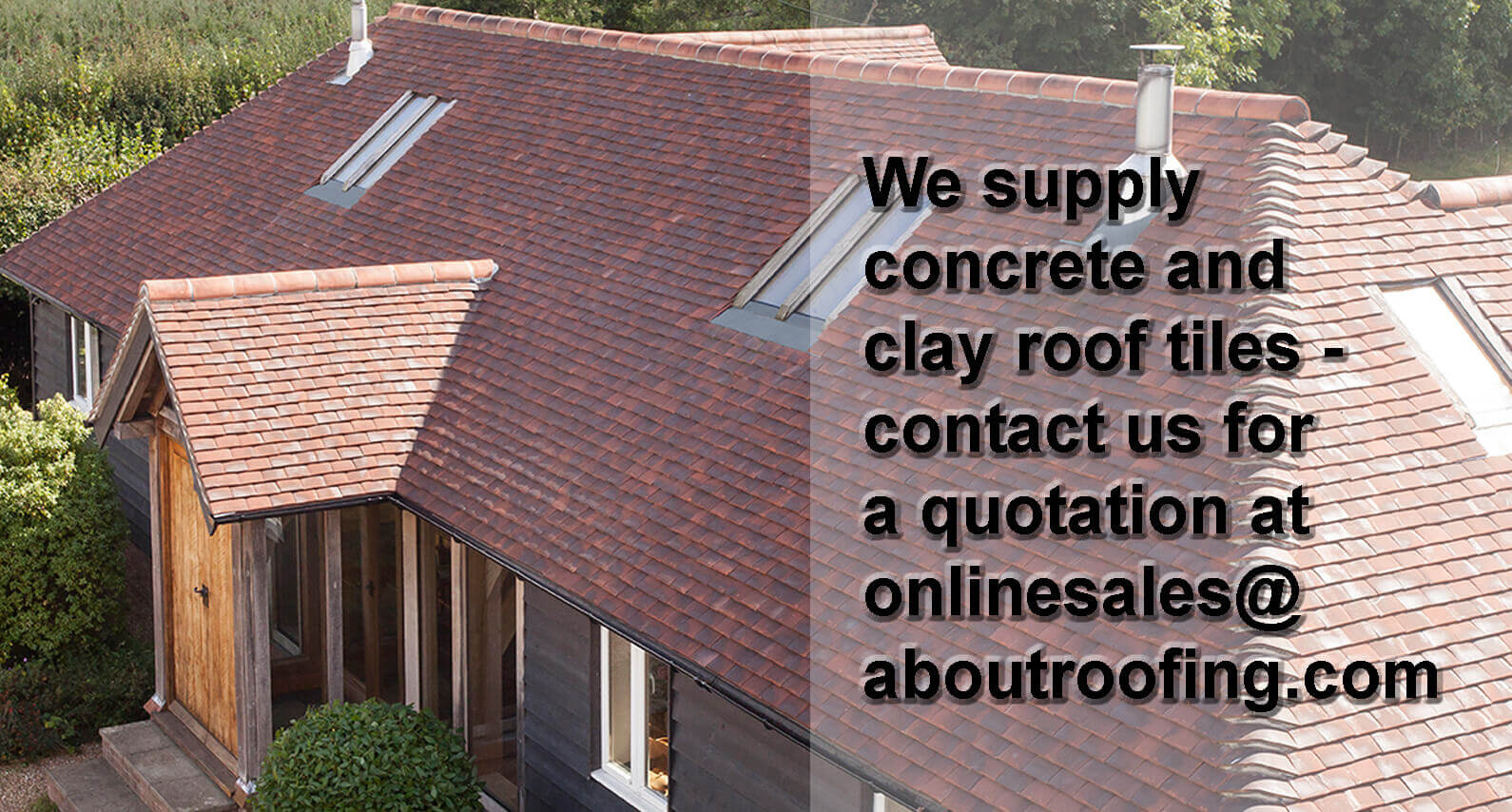 About Roofing Supplies supply concrete & clay roof tiles