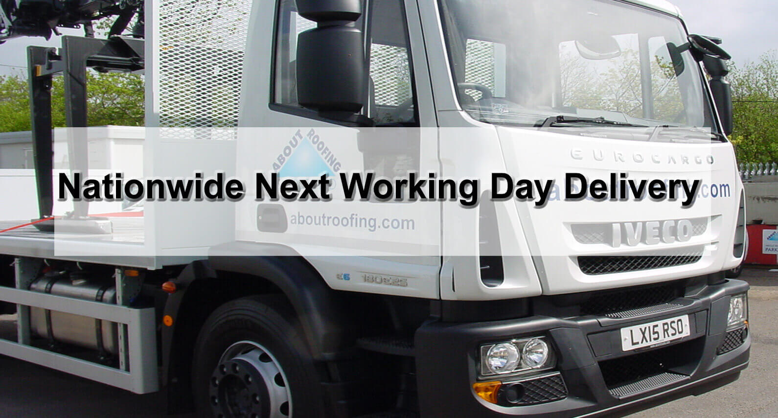 Nationwide Next Working Day Delivery - About Roofing Supplies