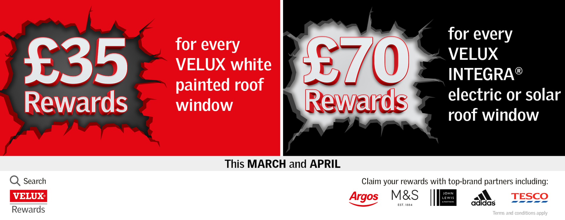 VELUX Double Rewards Promotion: March & April 2020 | About Roofing Supplies
