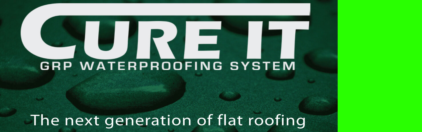 Cure It GRP Fibreglass Flat Roofing
