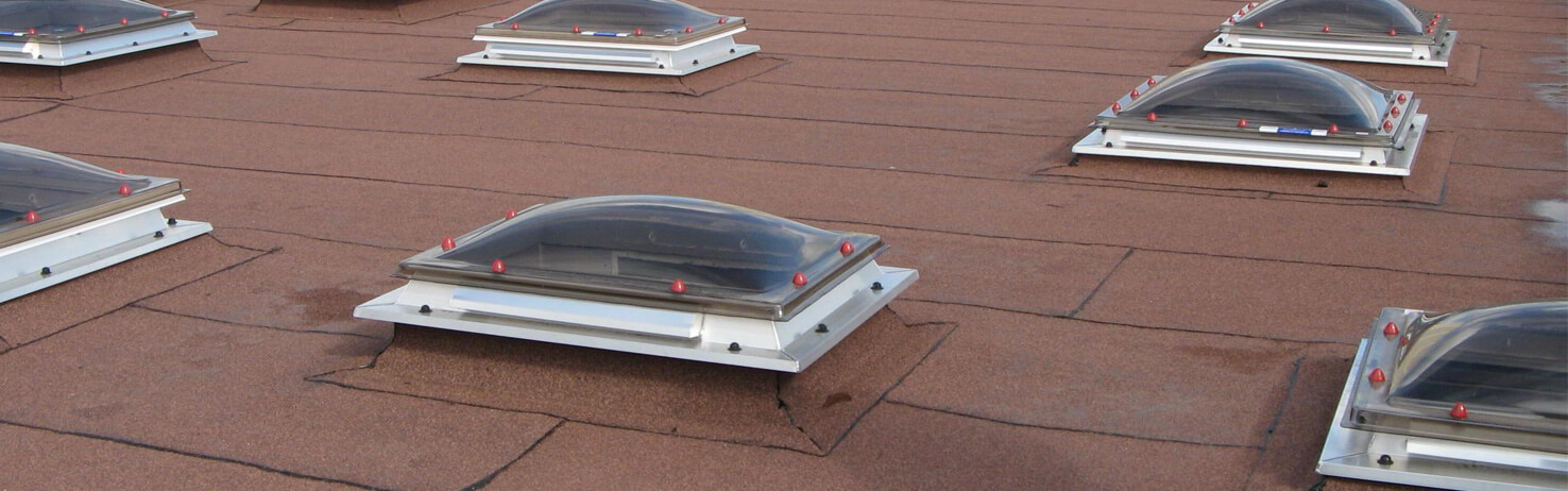 Flat Roof Domes