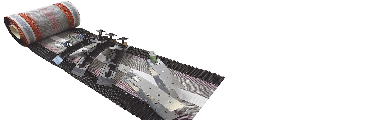 Dry Fix Roof Ridge & Hip Kits