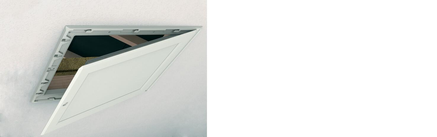 Manthorpe Drop Down Loft Access Door Hatch | About Roofing