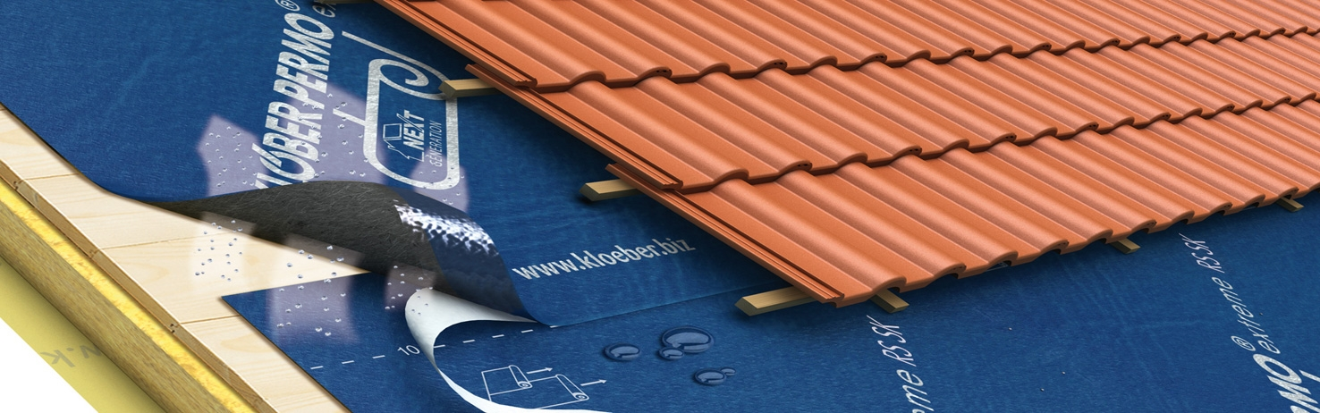 Breathable Felt Underlay For Low Pitch Roofing