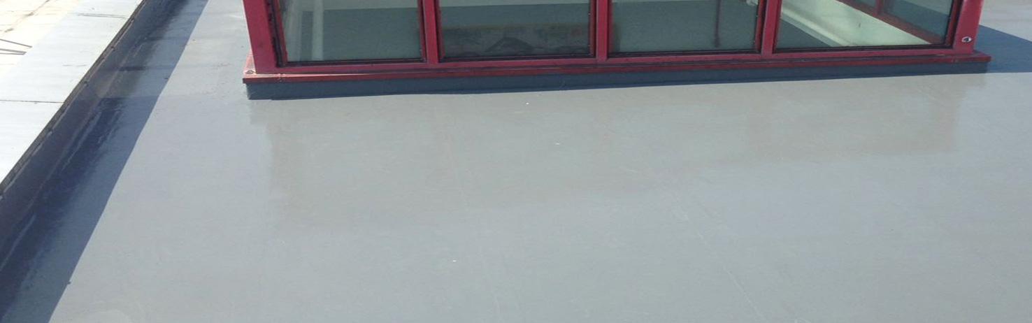 Easy Trim PolyureCoat Flat Roofing System Detail Reinforcing Fleece
