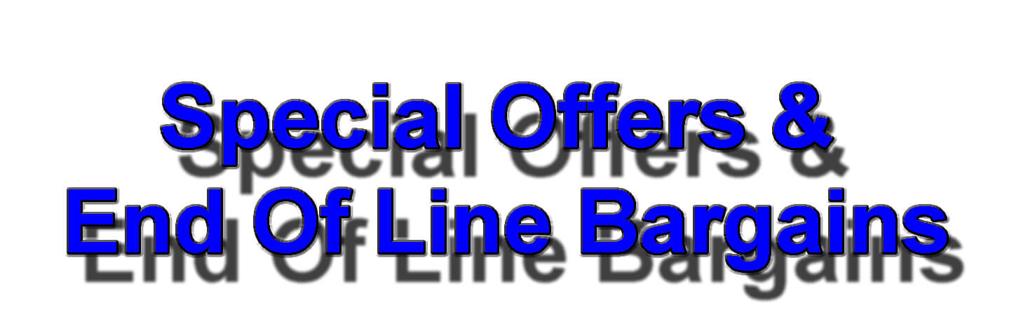 Special Offers & End Of Line Bargains