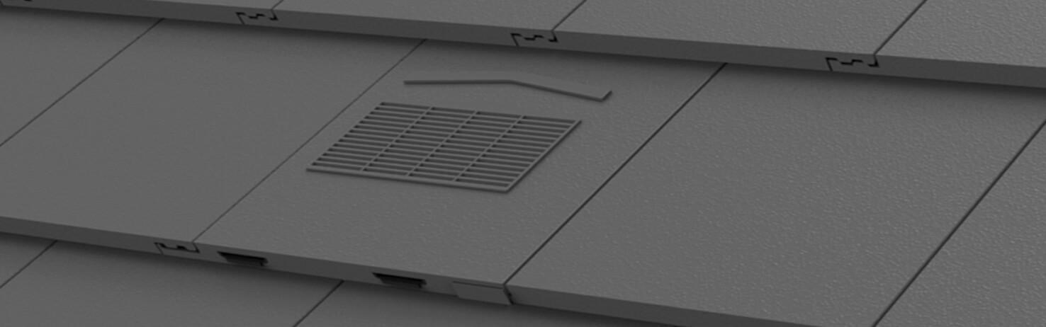 Flat Profile Roof Tile Vents