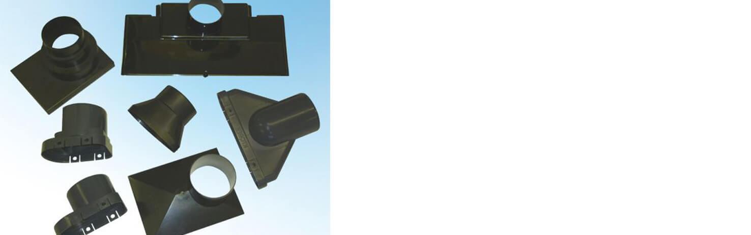 Vent Tile Adaptors & Flexipipes