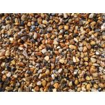 6mm Golden Pea Shingle / Gravel For Paths: 900kg Bulk Bag