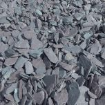 Slate Chippings Blue 20mm: 850kg Bulk Bag  - from About Roofing Supplies Limited