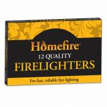 Pack Of 12 Firelighters To Aid Fire Lighting - from About Roofing Supplies Limited