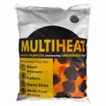 Multiheat Smokeless Coal: 25kg bag - from About Roofing Supplies Limited