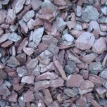 Slate Chippings Plum 20mm: 850kg Bulk Bag  - from About Roofing Supplies Limited