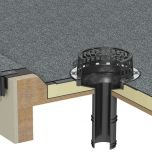 RynoDrain TPM Mechanical Fix Flange Rainwater Outlets - from About Roofing Supplies Limited