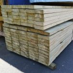 150mm x 50mm Sawn & Treated Timber C16/C24 x 4.2mtr