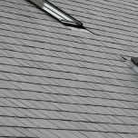 Cantero First 500mm x 375mm Preholed Spanish Natural Roof Slate - from About Roofing Supplies Limited