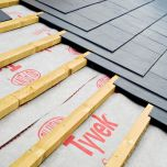 Tyvek Supro Breathable Roof Underlay Felt 145gsm  50mtr x 1m / 50mtr x 1.5mtr - from About Roofing Supplies Limited