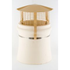 Brewer Birdguard For Solid Fuel, Oil & Gas Chimneys Buff - from About Roofing Supplies Limited