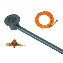 Burner 5 mtr Hose & Regulator Set For Bitumen Boilers - from About Roofing Supplies Limited