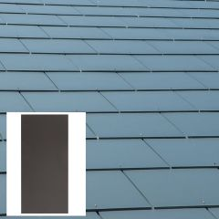 Man Made Jutland Roof Slates 600mm x 300mm / 600mm x 600mm Graphite Grey - from About Roofing Supplies Limited