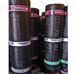 Chesterfelt Topguard SBS Torch On Roof Felt 4mm Sanded Cap Sheet 8mtr x 1mtr - from About Roofing Supplies Limited