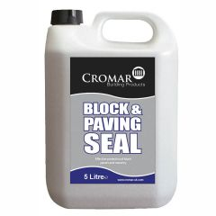 Cromar Block and Paving Seal 5 litre  - from About Roofing Supplies Limited