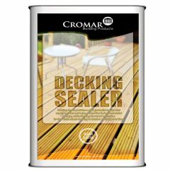 Cromar Decking Sealer 5 litre - from About Roofing Supplies Limited