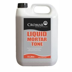 Cromar Cement & Mortar Liquid Mortar Tone Black 1 litre / 5 litre - from About Roofing Supplies Limited