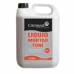 Cromar Cement & Mortar Liquid Mortar Tone Red 1 litre / 5 litre - from About Roofing Supplies Limited