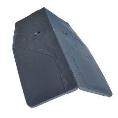 Cromar CromaSlate Hip Ridge Slate Grey   About Roofing Supplies