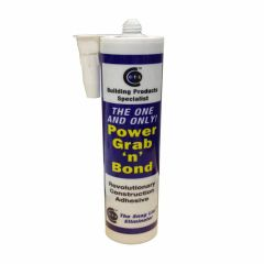 CT1 Power Grab And Bond Adhesive 290ml Cartridge Black - from About Roofing Supplies Limited