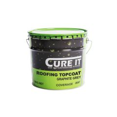 Cure It GRP Roofing Topcoat 10kg Graphite Grey - from About Roofing Supplies Limited