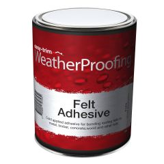 Easy Trim Roofing Felt Adhesive 5 Litre - from About Roofing Supplies Limited