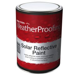 Easy Trim Solar Reflective Aluminium Roof Paint 5 Litre - from About Roofing Supplies Limited