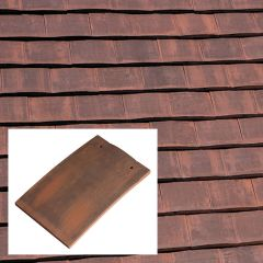 Marley Eternit Acme Double Camber Clay Machine Made Plain Roof Tile - from About Roofing Supplies Limited