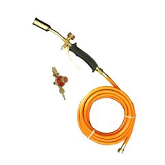 Fine Detail Gas Torch 100mm Neck 5 mtr Hose & Regulator - from About Roofing Supplies Limited