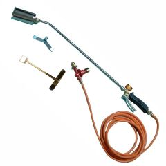 Gas Torch Kit 150mm / 350mm / 600mm 10 mtr Hose & Regulator  - from About Roofing Supplies Limited