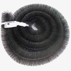 Hedgehog Gutter Guard Brush 100mm 4 inch x 4mtr Black - from About Roofing Supplies Limited