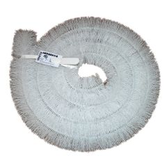 Hedgehog Gutter Guard Brush 100mm 4 inch x 4mtr White - from About Roofing Supplies Limited