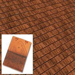 Edilians HF Phalempin Single Camber Machine Made Clay Plain Roof Tile  - from About Roofing Supplies Limited