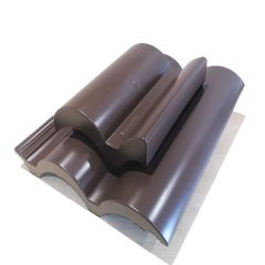 Klober Roof Tile Vent for Marley Bold Roll Roof Tiles Brown - from About Roofing Supplies Limited