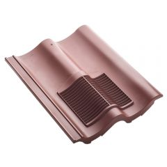 Klober Double Pantile Roof Tile Vent Red / Brown / Grey / Granulated Brown / Granulated Red - from About Roofing Supplies Limited