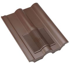 Klober Double Roman Roof Tile Vent Red / Brown / Grey / Granulated Brown / Granulated Red - from About Roofing Supplies Limited