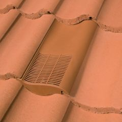 Klober Single Pantile Roof Tile Vent For Marley Anglia Plus Or Redland Norfolk Pantile Roof Tiles Red / Brown / Grey - from About Roofing Supplies Limited