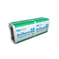 Knauf DriTherm 32 Ultimate Glass Mineral Slab Insulation 100mm / 150mm  - from About Roofing Supplies Limited