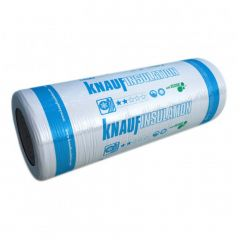 Knauf Earthwool Loft Roll 44 Glass Mineral Insulation 100mm / 150mm - from About Roofing Supplies Limited