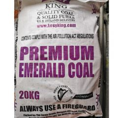 Emerald Premium Columbian Coal: 20kg Bag - from About Roofing Supplies Limited