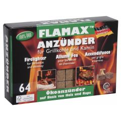 Packet Of 64 Long Burn Eco-Firelighters To Aid Fire Lighting - from About Roofing Supplies Limited