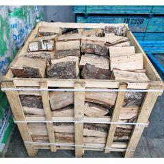 Crate Of Kiln Dried Hardwood Spilt Log Blocks - from About Roofing Supplies Limited